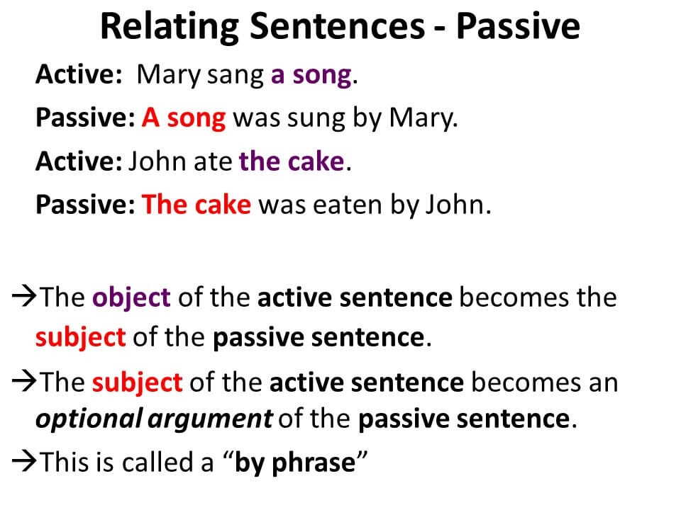 Active and Passive Voice-2