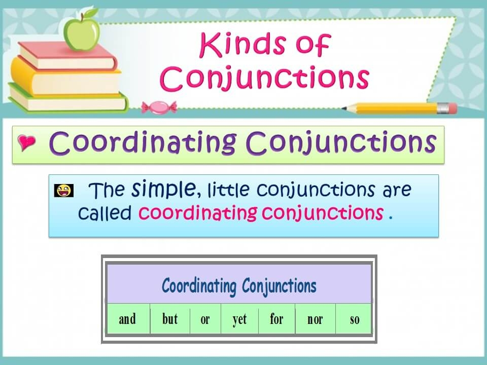 Conjunctions - Detailed Expression-2
