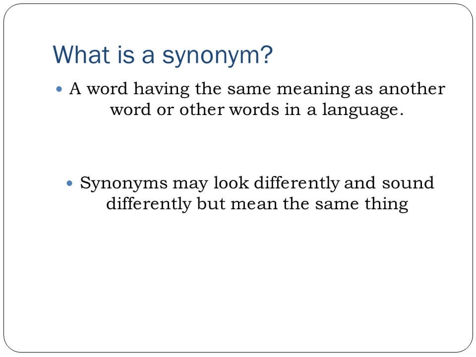 Synonym Word List U2013 From Basic To Advanced  Another Word For To Do List