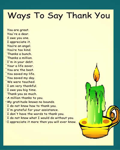 How to say thank you for writing a letter of recommendation ideal ways to say thank you expocarfo