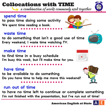 collocations with time-1