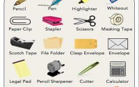 important office supplies to learn