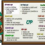 phrasal verbs - up
