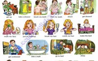 Everyday activities - verbs-200