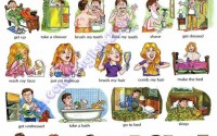Everyday activities - verbs
