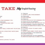 PHRASAL VERBS - TAKE