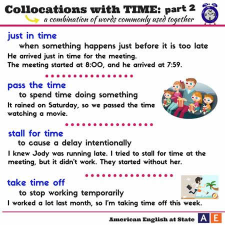 collocations with time-2