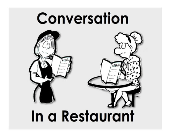 ... Learn Site – Vocabulary Study Restaurants Ordering Restaurant