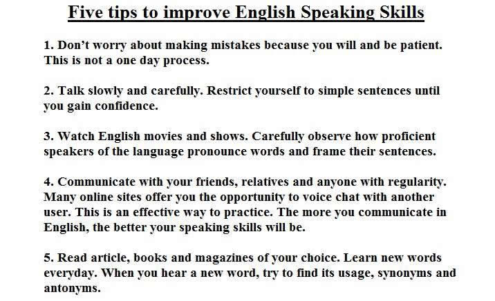 Improve essay english