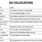 do-collocations