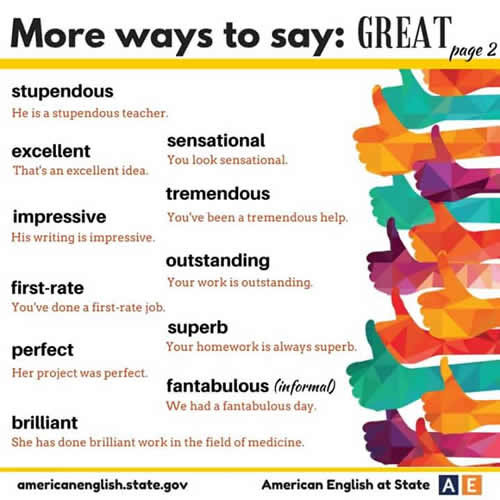 more ways to say great-2
