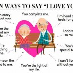 ten ways to say I love you