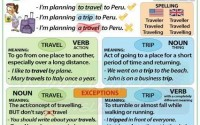 uses of travel and trip