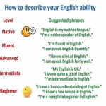 Describe your english ability