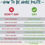 how to be more polite in english