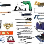 Household Tools- visual vocabulary