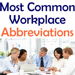 most-common-workplace-abbreviations