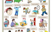 One Day Vocabulary In English