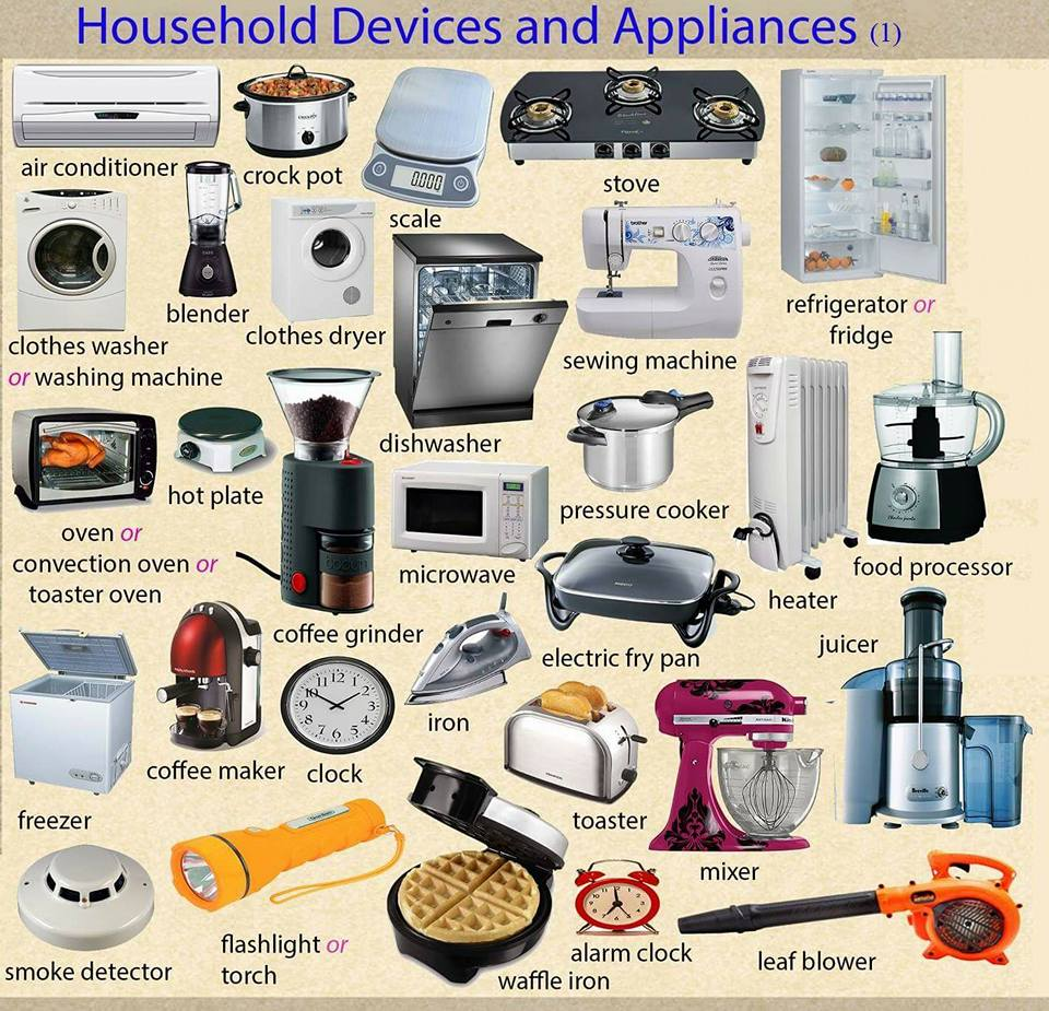 Household Devices And Appliances