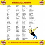 Personality Adjectives