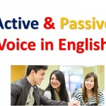Active and Passive Voice-1