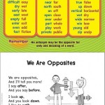 Antonym Word List