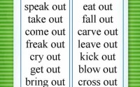 Phrasal verbs with out