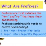 What are prefixes-1