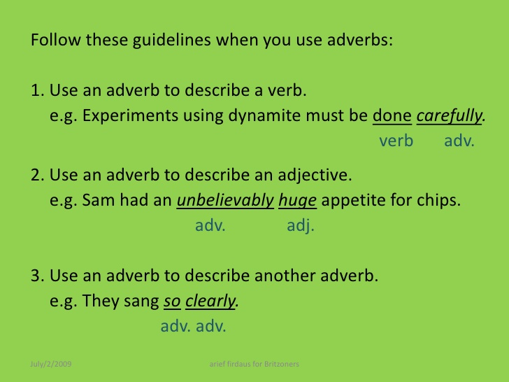 adverbs in english2