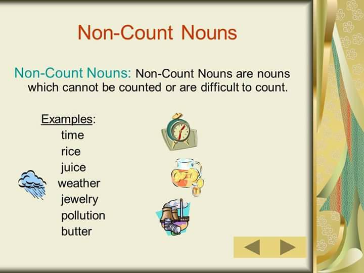 count and noncount nouns worksheet pdf